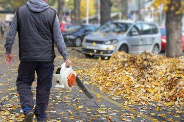 Sprzątanie liści
